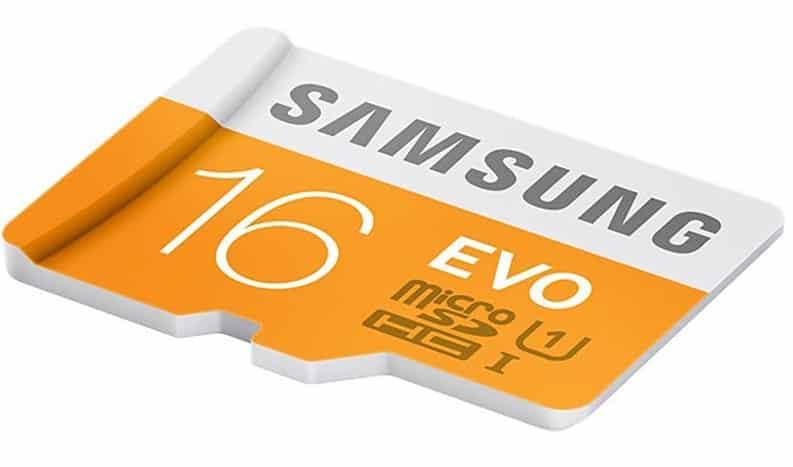 Samsung Evo 16GB Class 10 micro SDHC Card Review