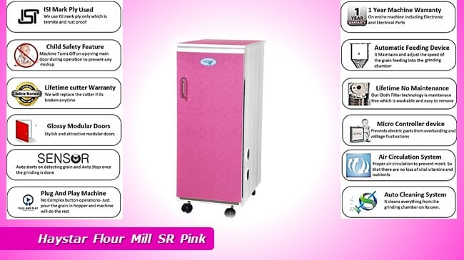 Cheapest Haystar Flour Mill SR Pink review