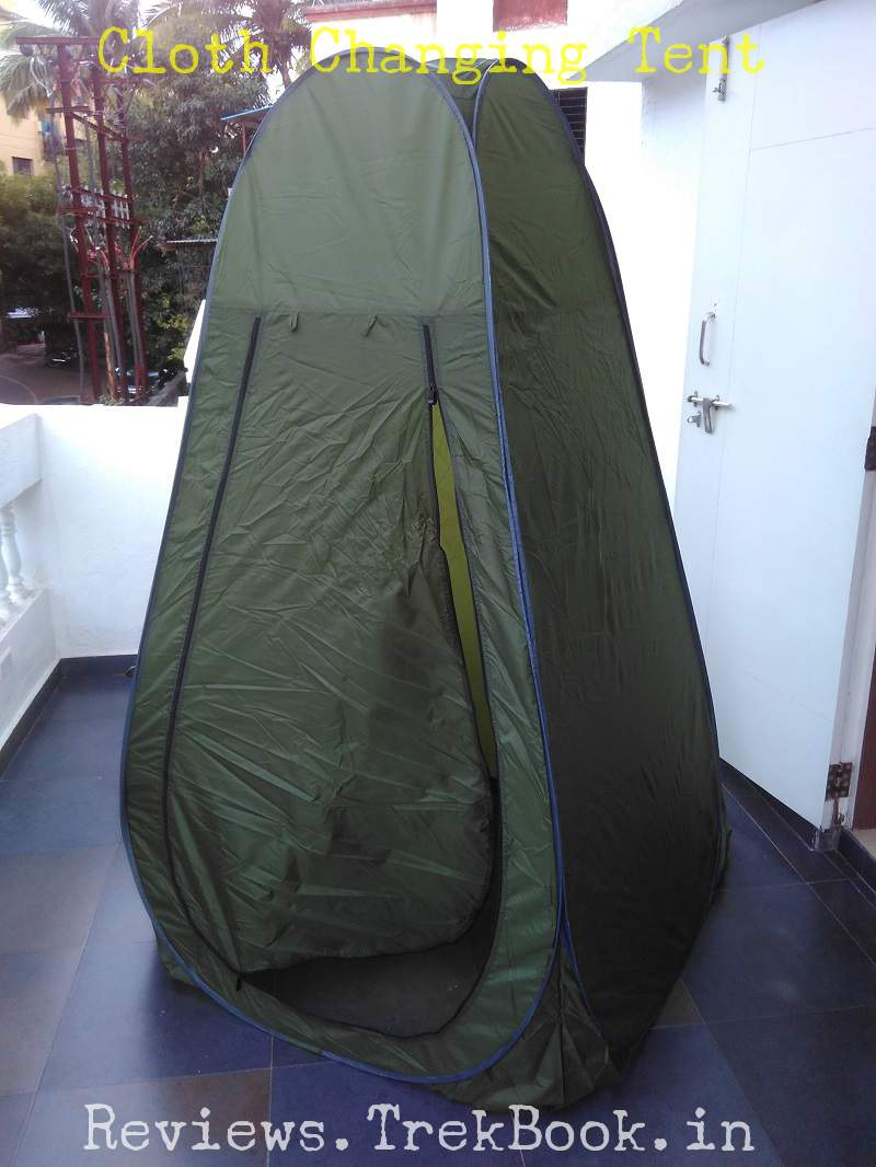 cloth changing tent cum portable toilet tent for ladies in india