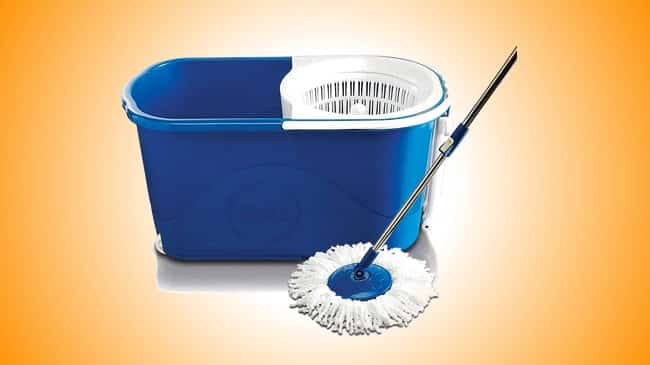 Gala Spin mop with easy wheels Review