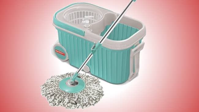 Milton Elite Spin Mop with Bigger wheels review