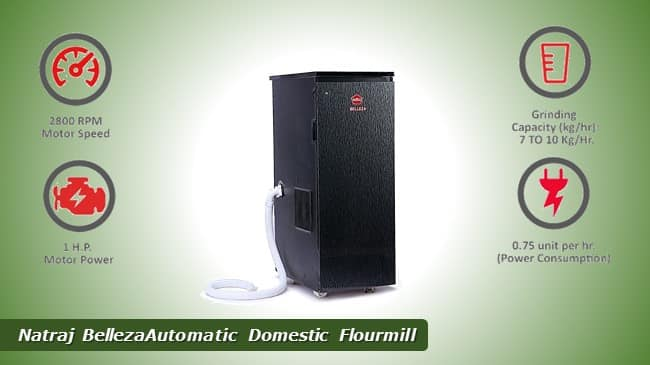 Natraj BellezaAutomatic Domestic Flourmill review
