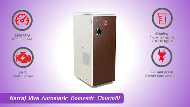 Natraj Viva Automatic Domestic Flourmill review