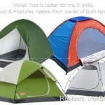 Best Camping Tent in India 2018 [Branded vs non-branded]