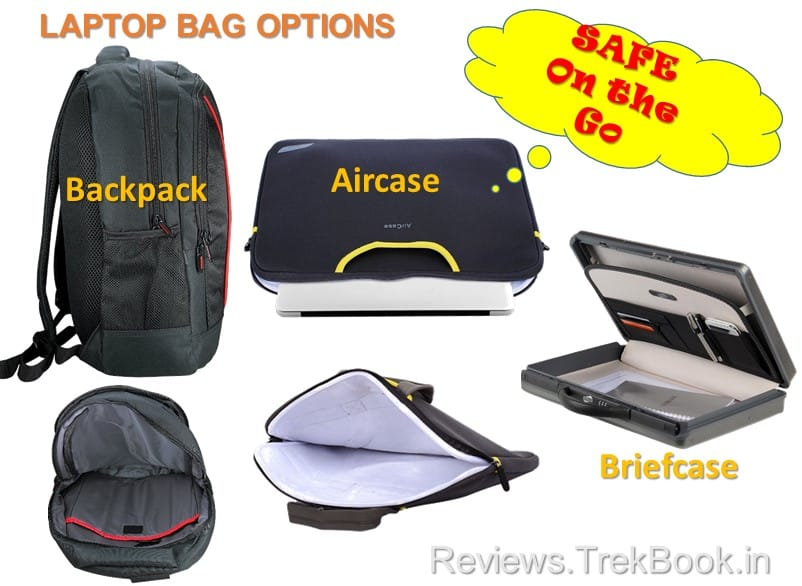 Best Laptop Bag Options [Backpack, Aircase, Briefcase]
