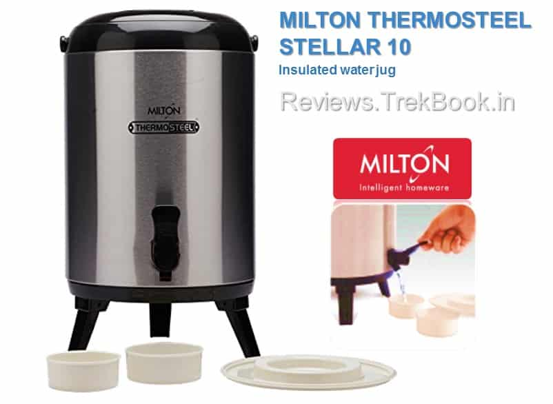 Milton Thermosteel Stellar 10 - Insulated Water Jug review
