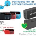 Portronics vs Philips Portable FM Radio Speaker Review