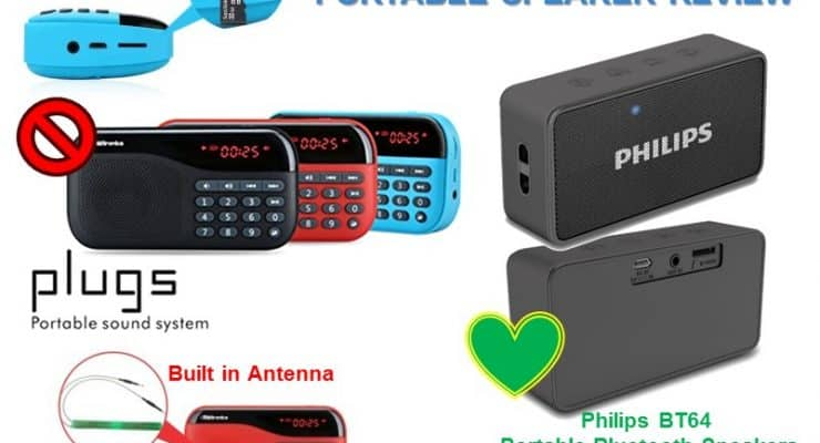 Portronics POR-141 vs philips bt64 Review