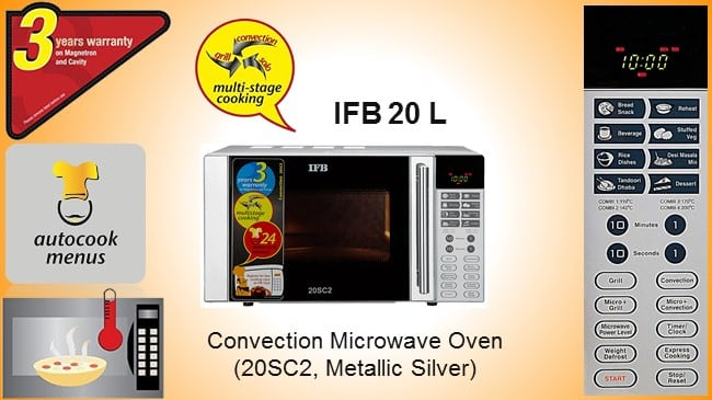 IFB 20 L Convection Microwave Oven review