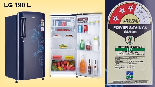 LG 190 L Direct-Cool Single-Door Refrigerator review