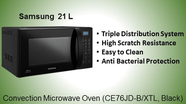Samsung 21 Liter Convection Microwave Oven review