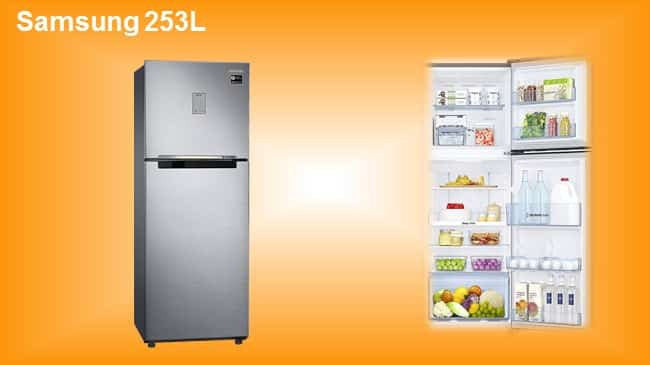 Samsung 253LFrost Free Double Door Refrigerator with Inverter Compressor review