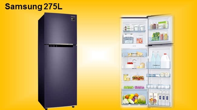 Samsung Frost Free Double Door Refrigerator with Inverter Compressor review