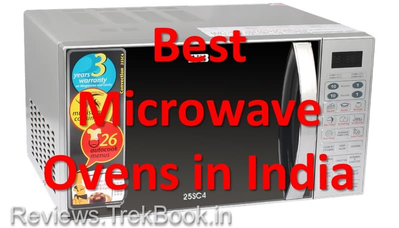 Top 5 Best Microwave Ovens in India [with Guide & Comparison table]