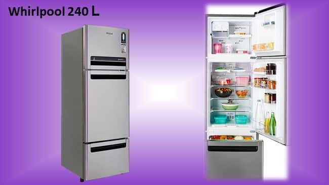 Whirlpool 240L Frost Free Multi-Door Refrigerator review