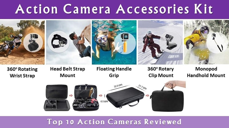 Best Action Camera Accessories Kit