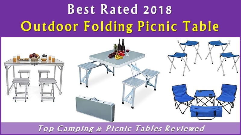 Best Outdoor Portable Folding Picnic Table & Chairs with Umbrella review