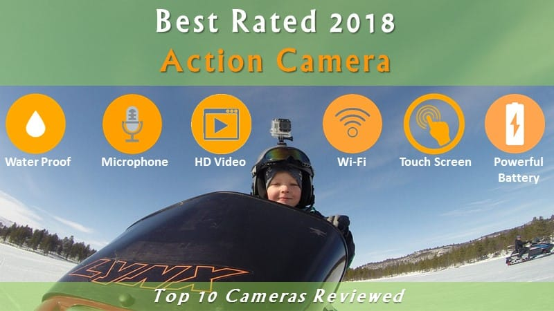 Best action camera India 2018 - Top 10 Cameras Reviewed