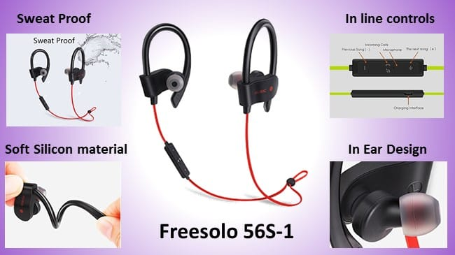 Freesolo 56S Bluetooth in ear headphones review