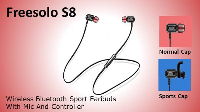 Freesolo S8 Wireless Bluetooth Sport Earbuds Review