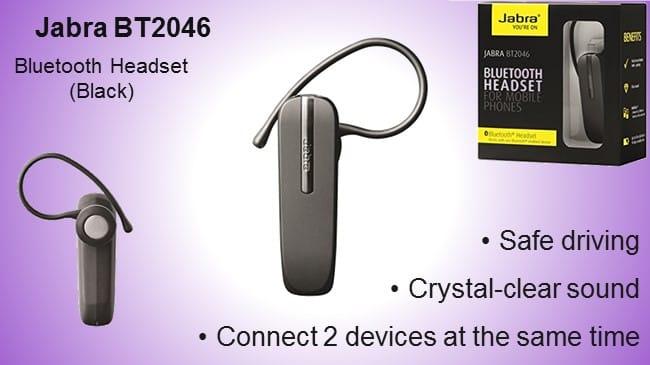 Jabra BT2046 Bluetooth Headset review
