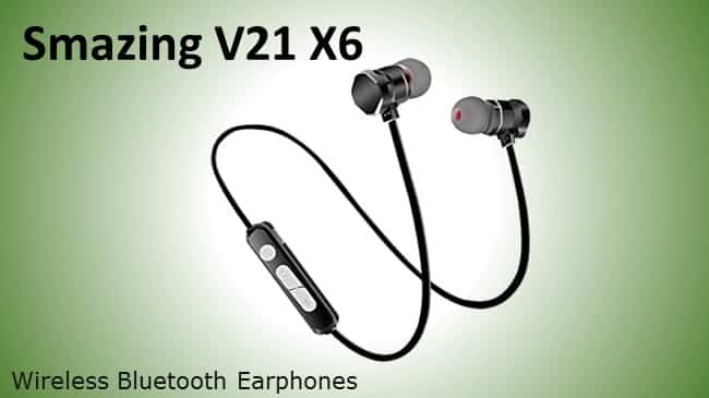SmazingV21 X6 - Bluetooth Headset reviw
