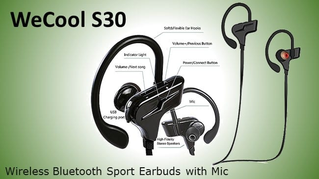 WeCool S30 Wireless Bluetooth Earphone with Mic review