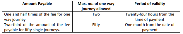 fastag discount for multiple journey monthly pass