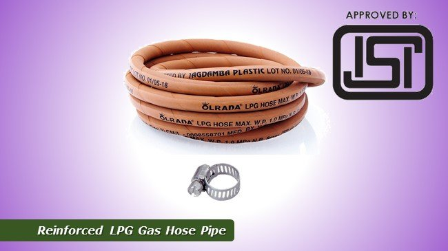 Best Reinforced LPG Gas Hose Pipe Review
