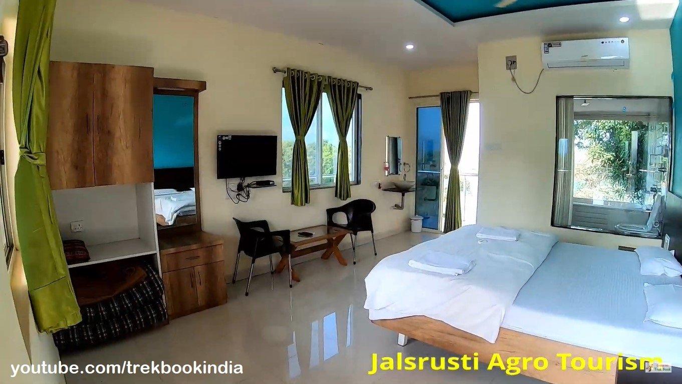 Jalsrushti Agro Tourism, Tapola, Mahabaleshwar five star rooms