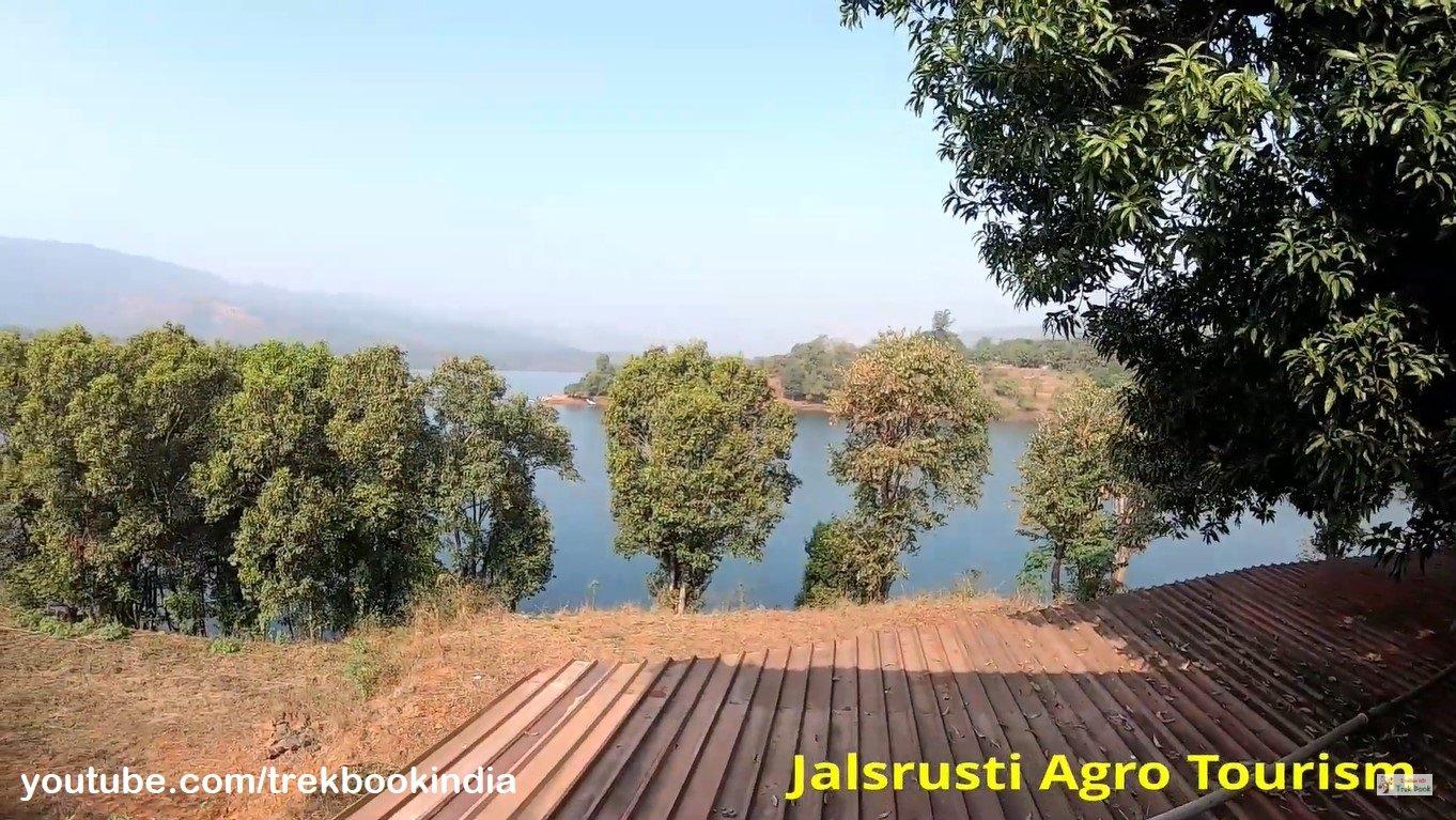 Jalsrushti Agro Tourism, Tapola, Mahabaleshwar lake view from room