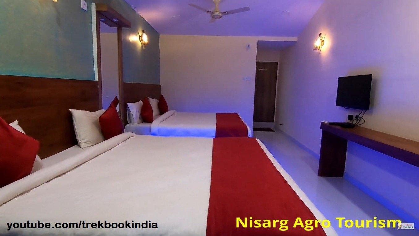 Nisarga Agro Tourism, Tapola, Mahabaleshwar rooms lighting view