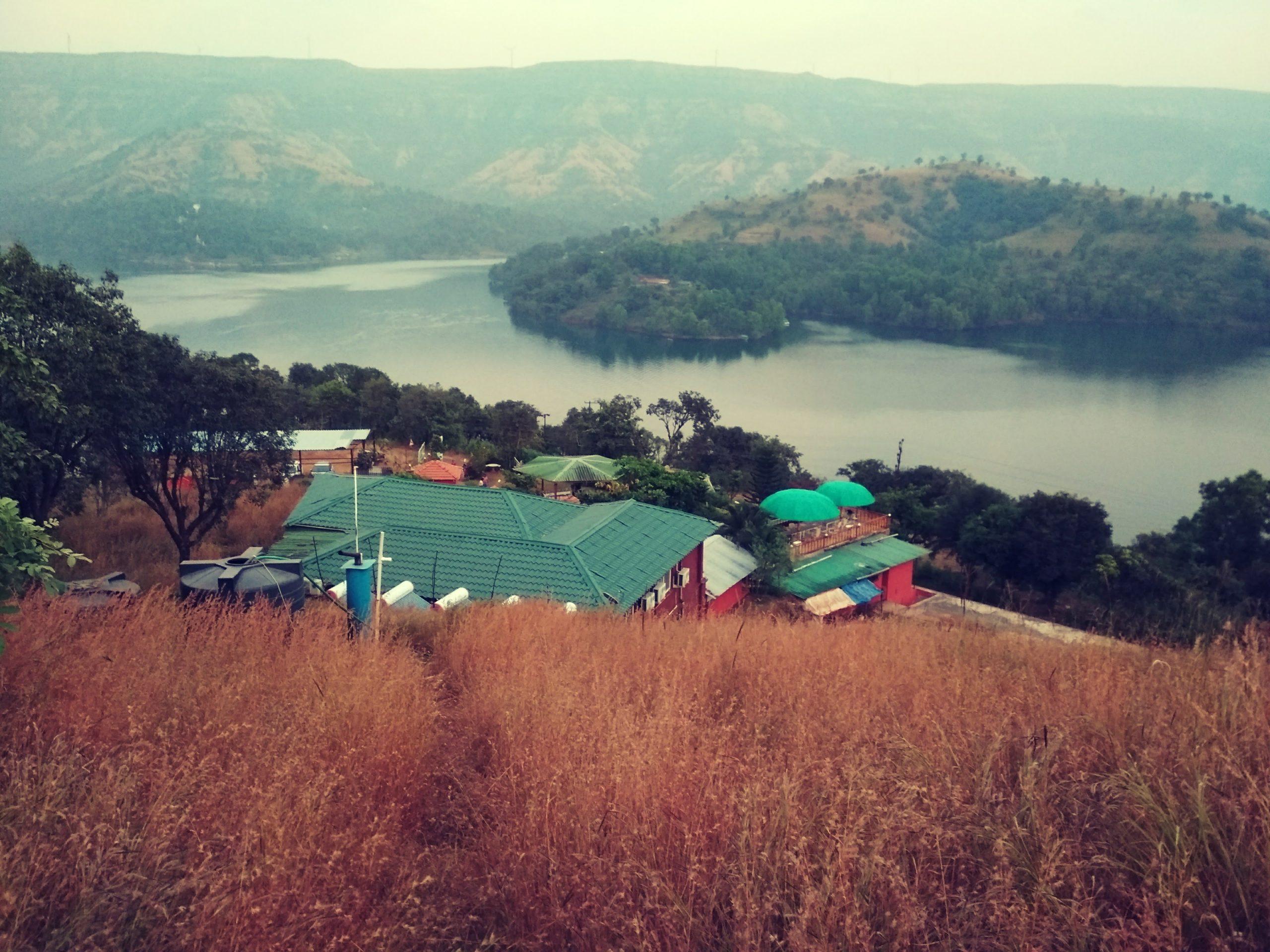 Nisarga Agro Tourism, Tapola, Mahabaleshwar - Shivsagar lake view