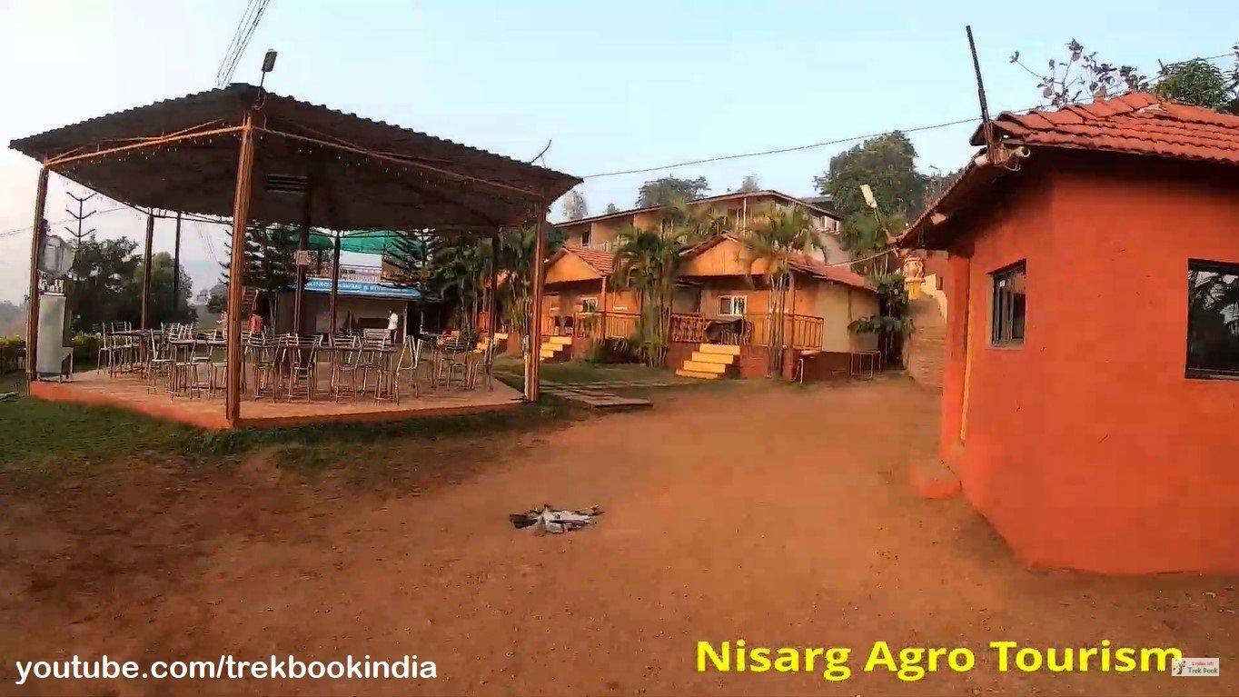 Nisarga Agro Tourism, Tapola, Mahabaleshwar - outside view of rooms