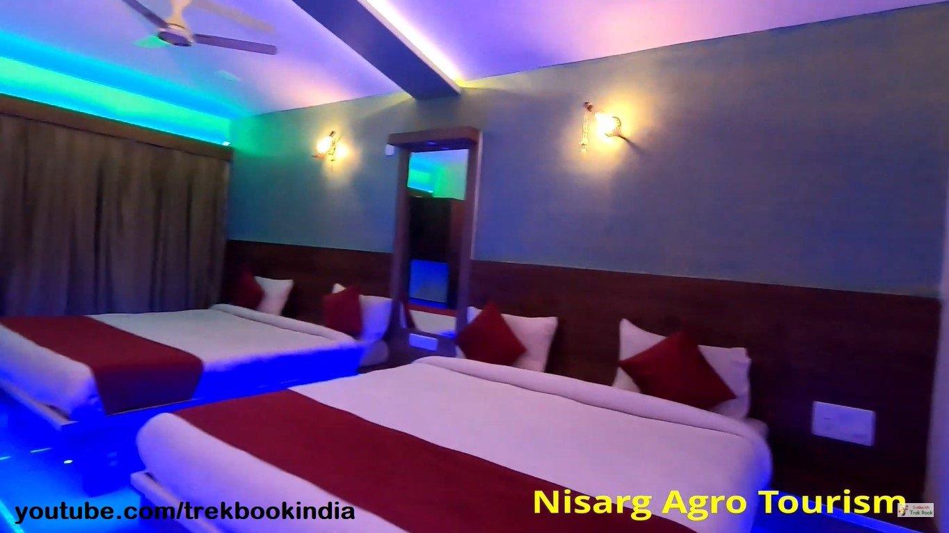 Nisarga Agro Tourism, Tapola, Mahabaleshwar hotel room interior