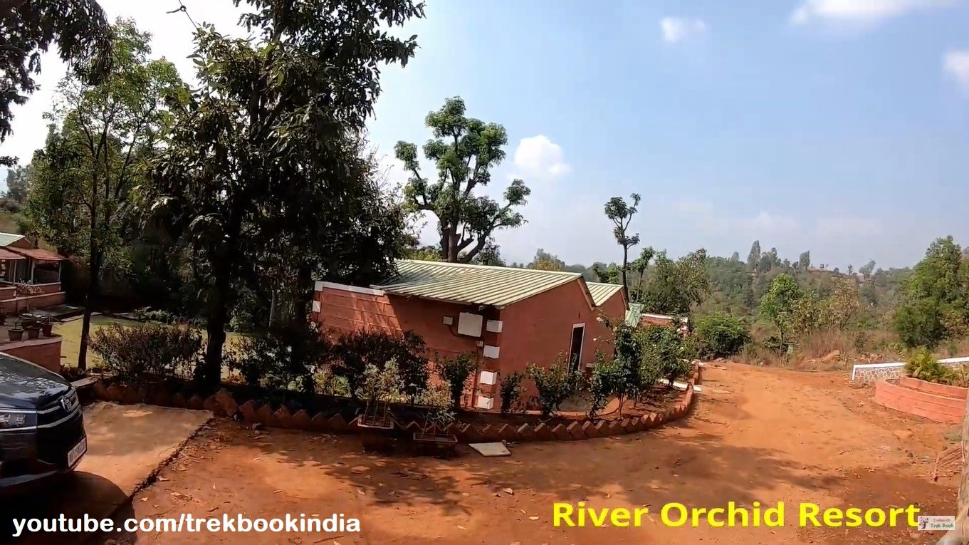 river orchid resort - layout of hotel rooms