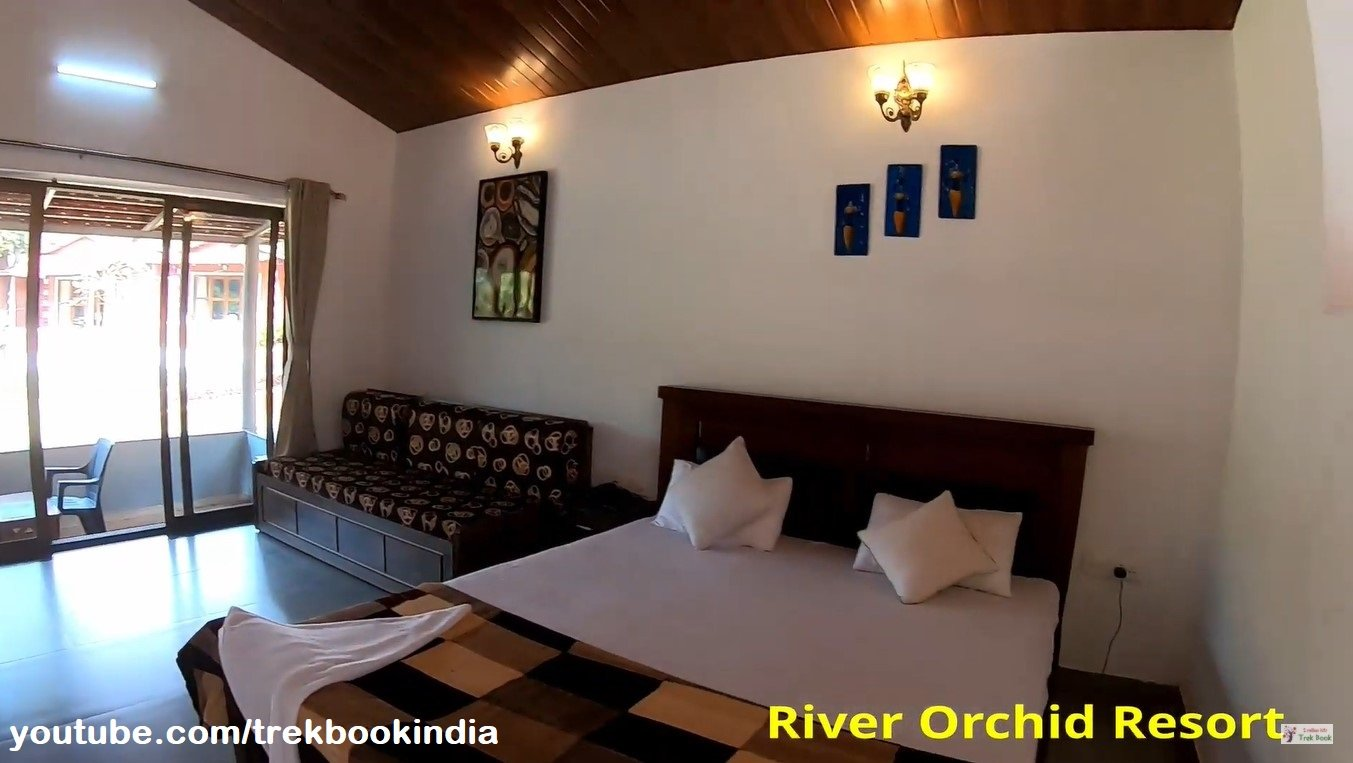 river orchid resort - hotel room inside view