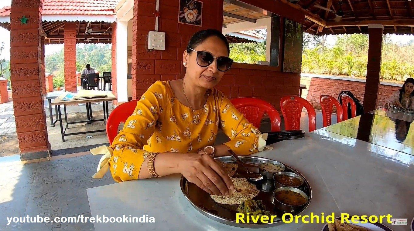 river orchid resort - veg food