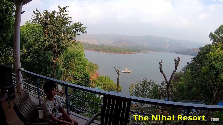 The Nihal Resort, Tapola, Mahabaleshwar floating deck in water