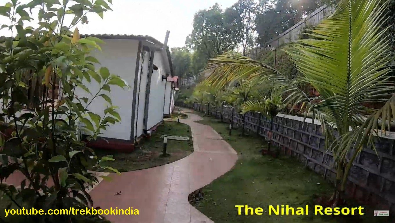 The Nihal Resort, Tapola, Mahabaleshwar pathway to rooms