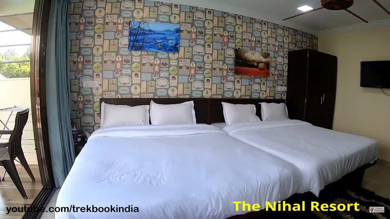 The Nihal Resort, Tapola, Mahabaleshwar room interior