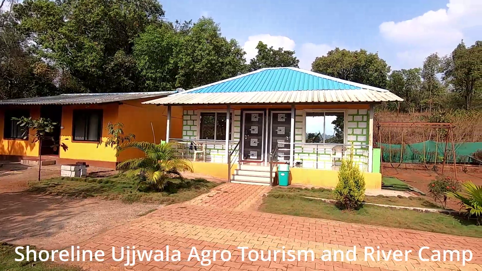 Shoreline Ujjwala Agro Tourism and River Camp rooms