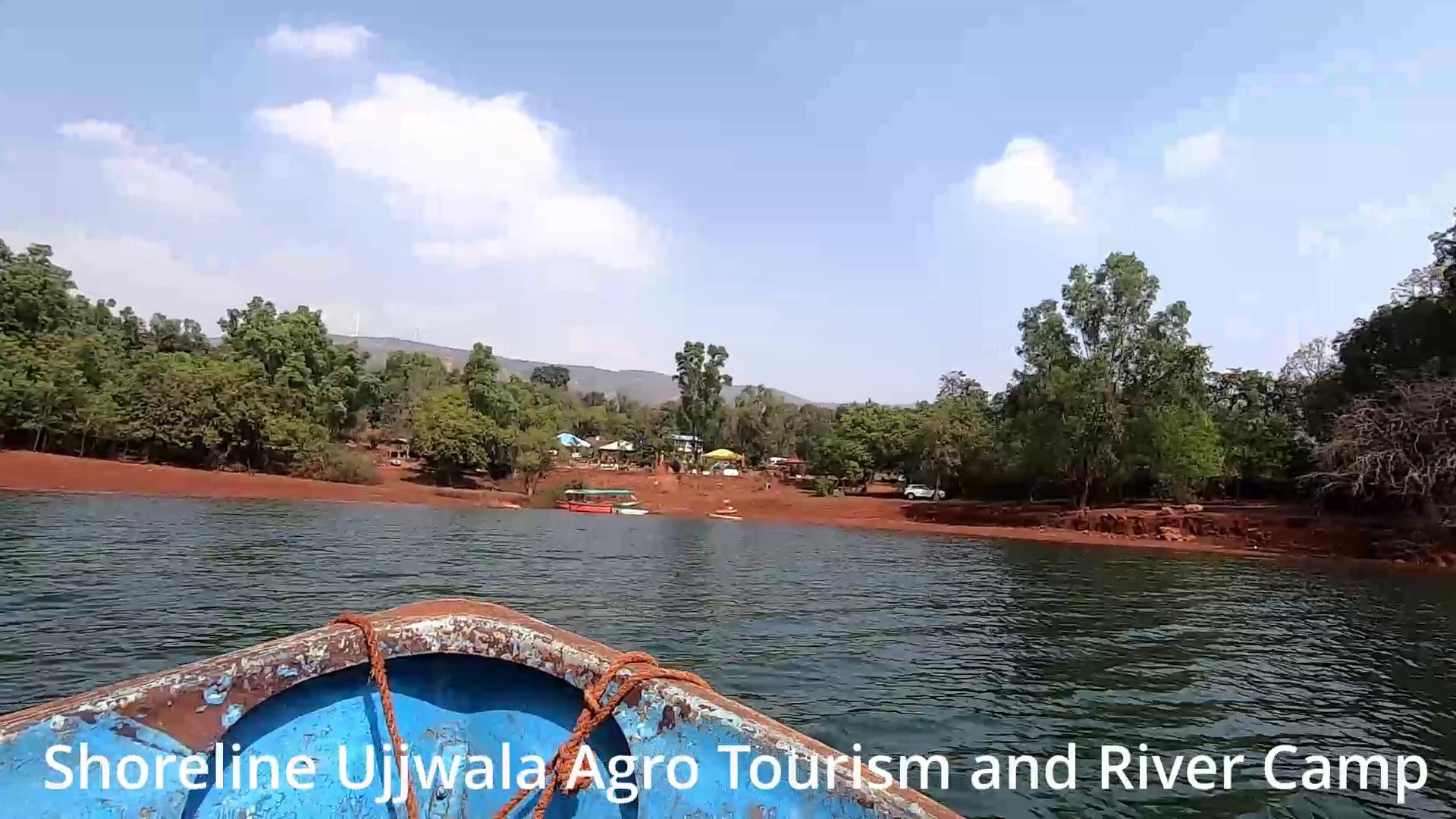 boating Shivsagar Lake - Shoreline Ujjwala Agro Tourism and River Camp