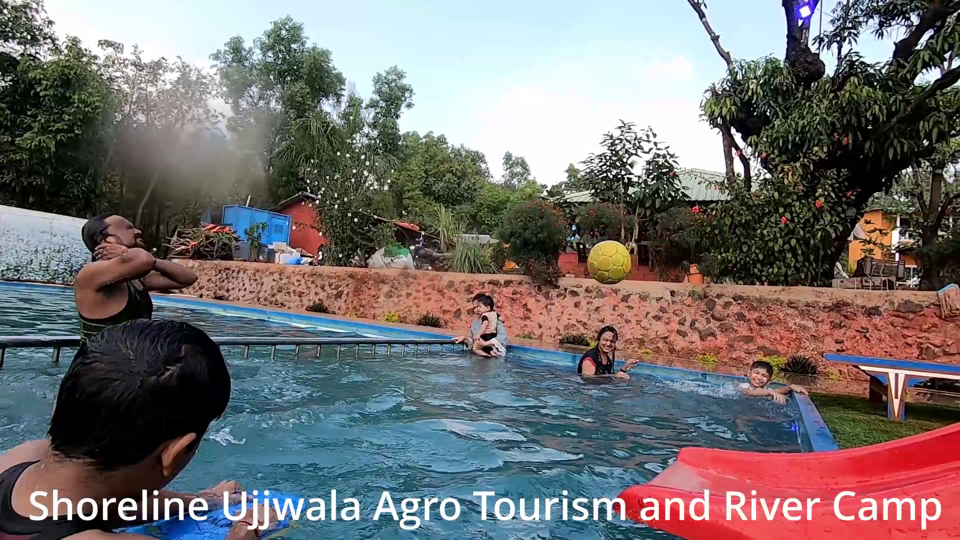 swimming pool tapola - Shoreline Ujjwala Agro Tourism and River Camp